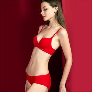 Soft Seamless Push-up Bra and Panty Sets - Saikin-rettou