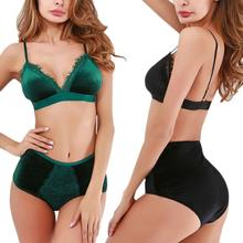 Load image into Gallery viewer, High Waist Panties And Bra Set - Saikin-rettou