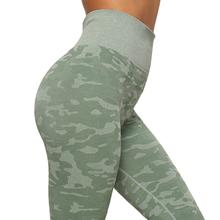 Load image into Gallery viewer, Women's High Waist Camouflage Leggings - Saikin-rettou