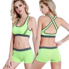 Load image into Gallery viewer, Short Leggings With Sports Bra - Saikin-rettou