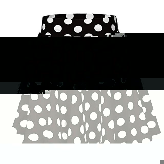 Polka Dot Athletic Skirt - Saikin-rettou