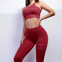 Load image into Gallery viewer, Women Leggings And Bra Set - Saikin-rettou