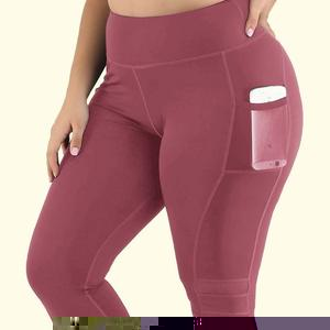 Women High Waist Capri With Pockets - Saikin-rettou